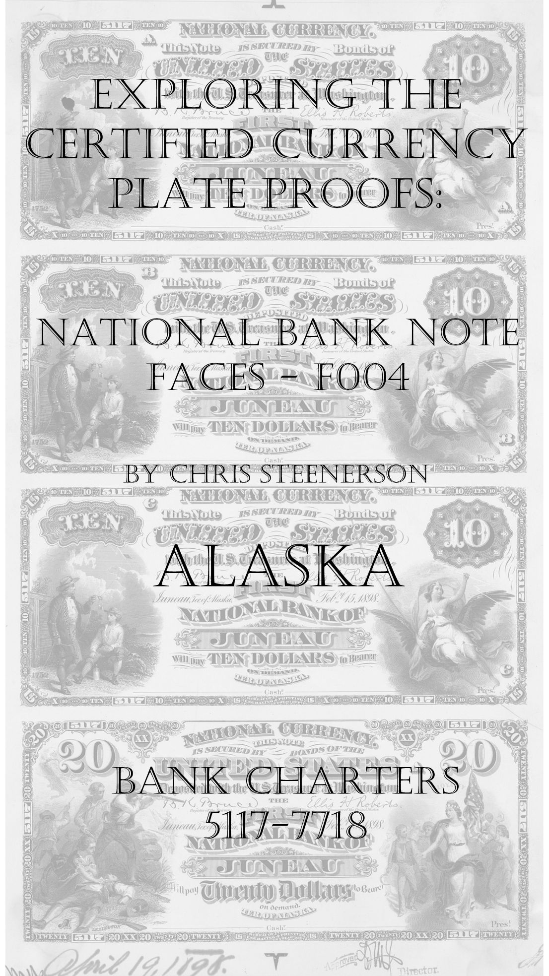 Alaska National Bank Note Currency Proofs
