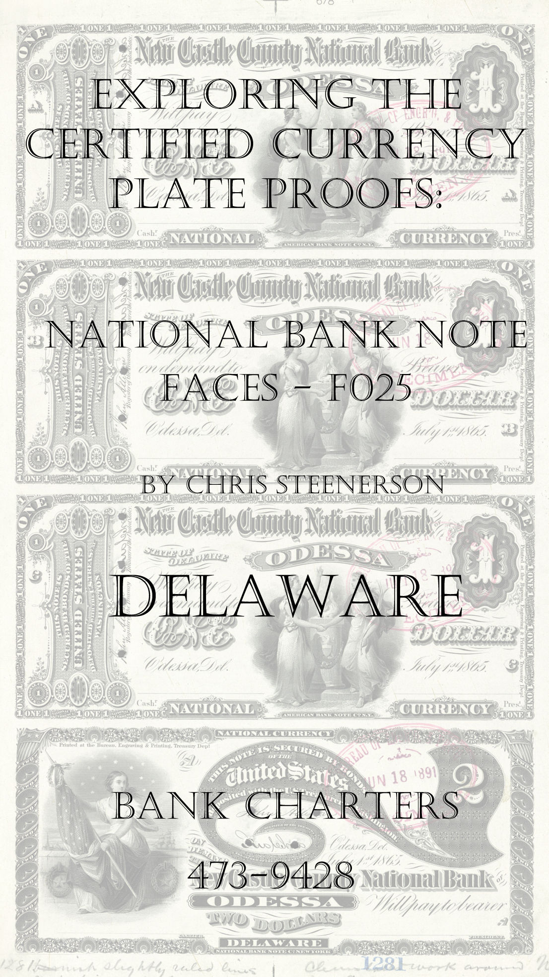 Delaware National Bank Note Currency Proofs