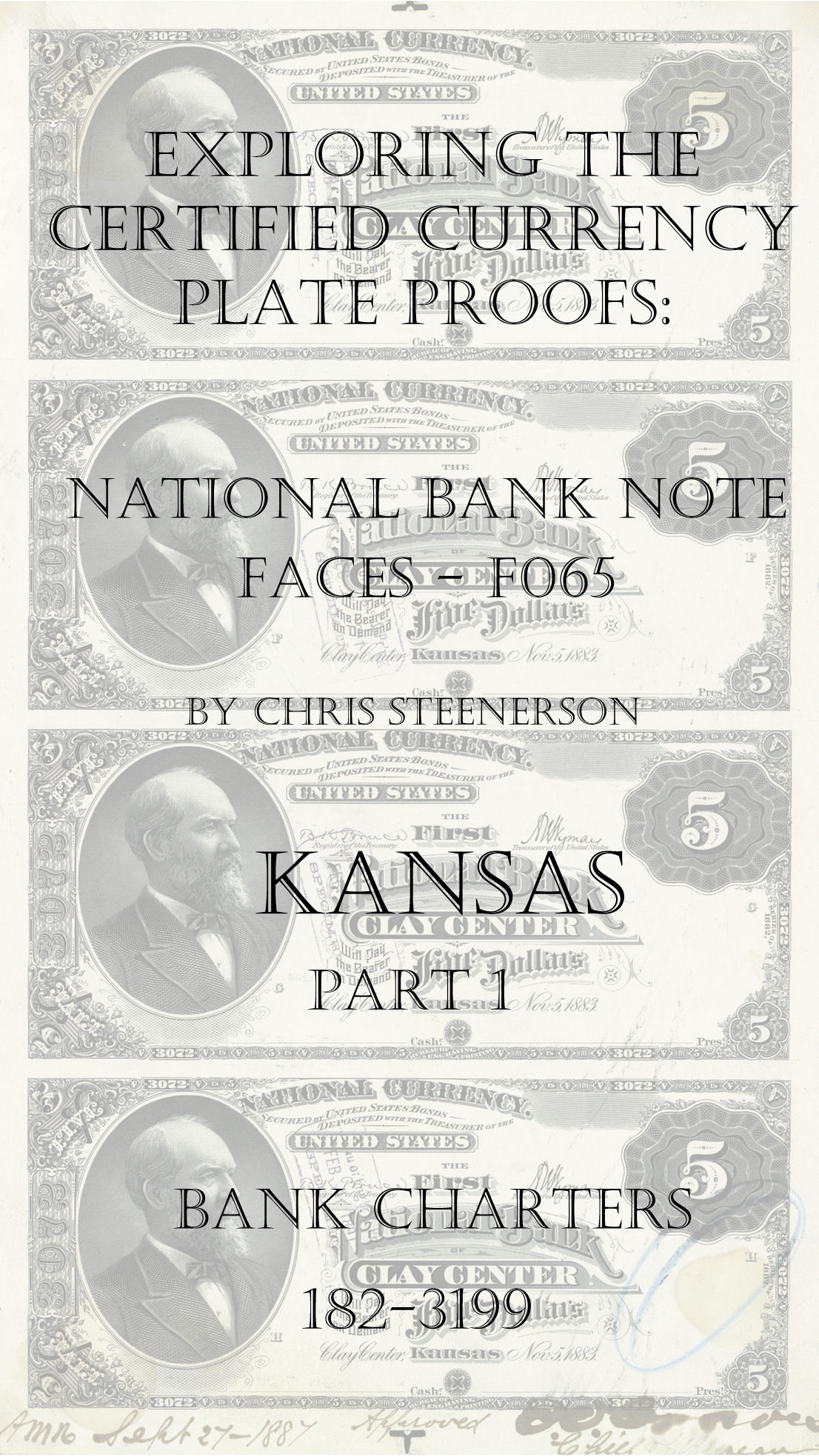 Kansas National Bank Note Currency Proofs