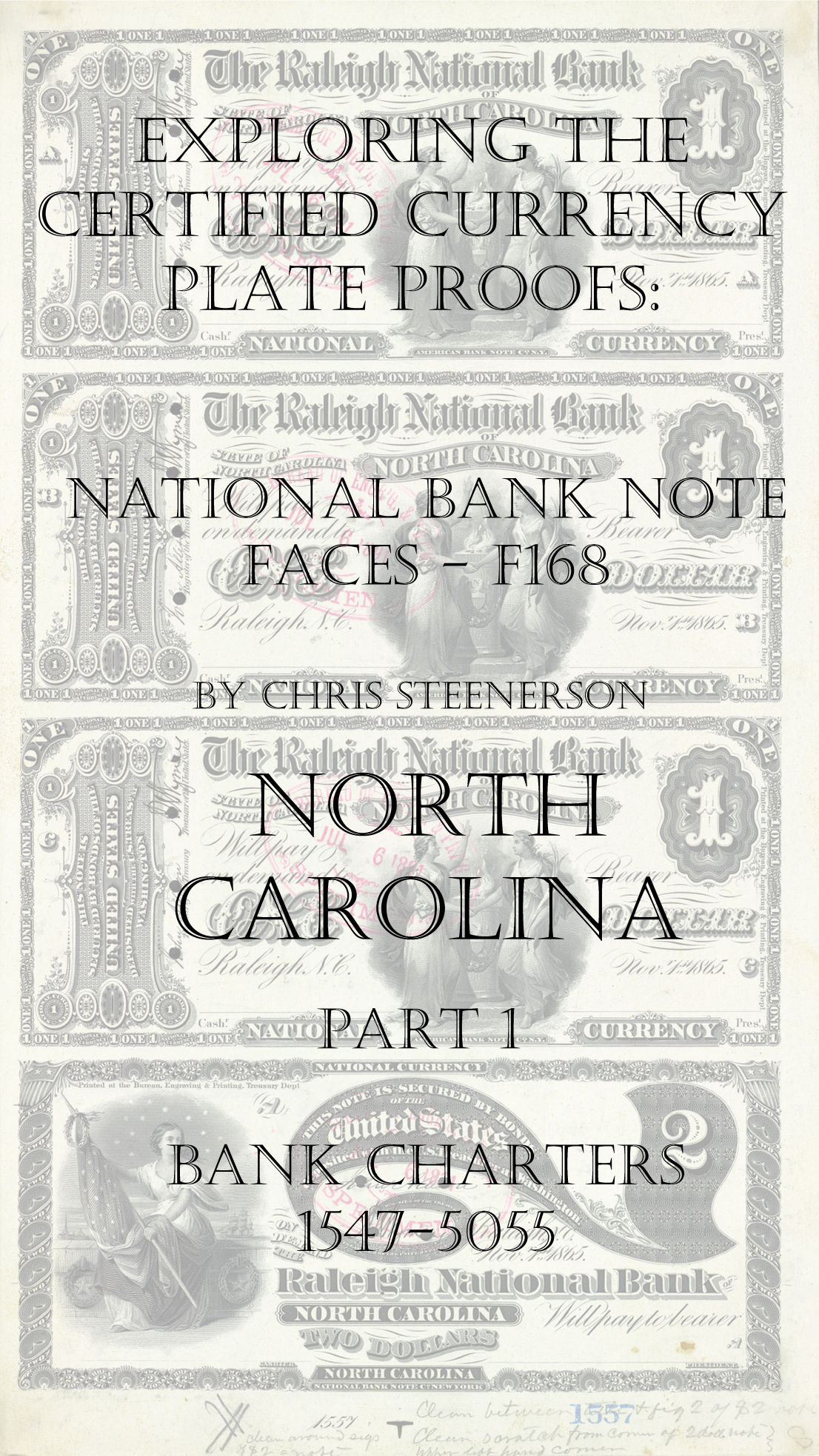North Carolina National Bank Note Currency Proofs