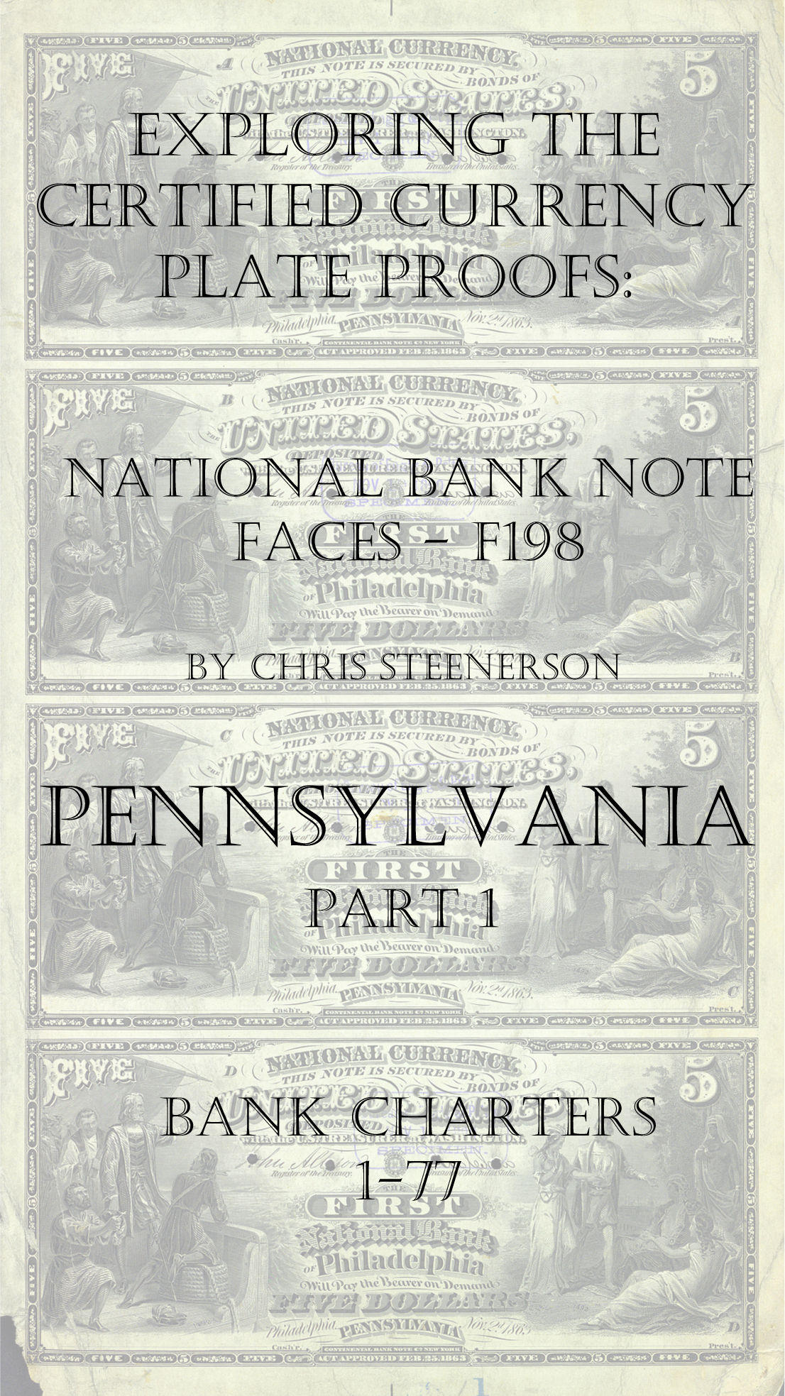 Pennsylvania National Bank Note Currency Proofs